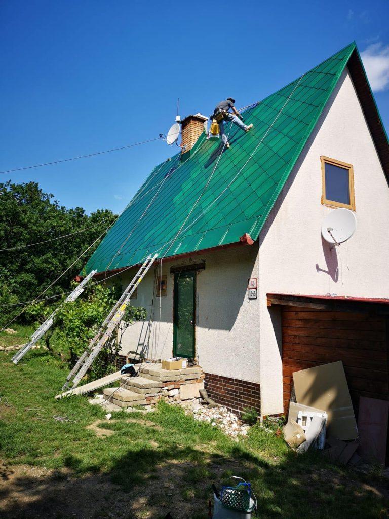 náter strechy