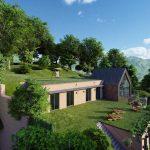 zelené strechy