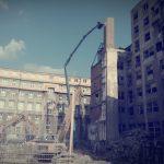 demolácia komína